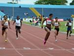 Okaghare Blessing and Gloria Asunmu in the 100m - Calabar 2013