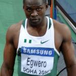Ogho-Oghene Egwero of Delta State at the World Indoors in Doha - Photo: Yomi Omogbeja