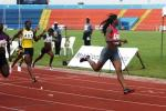 Blessing Okagbare wins in Calabar - Mobil Championships 2010 - Photo: AthleticsAfrica